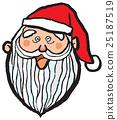 クリスマス サンタクロース 25187519