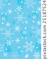 snow, flake, crystal 25187524