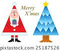 크리스마스 산타 클로스 25187526