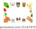 สัตว์,ภาพวาดมือ สัตว์,สัตว์เลี้ยง 25187870