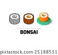 寿司 卷 图标 25188531