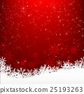 Christmas snowflake and starlight abstract 25193263