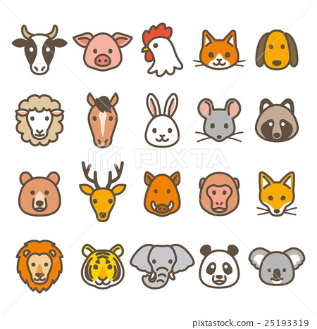 animal, animals, icon 25193319