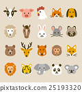 animal, animals, icon 25193320