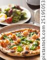 披薩 食物 食品 25195053