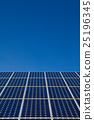 Solar panels at a solar power plant 25196345