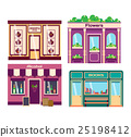 Shop facade vector illustration 25198412