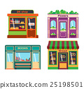 Shop facade vector illustration 25198501