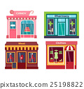 Shop facade vector illustration 25198822
