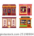 Shop facade vector illustration 25198904