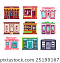 Shop facade vector illustration 25199167
