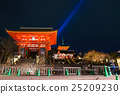 Kiyomizu dera temple , light up in spring 25209230