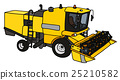 Funny yellow harvester 25210582