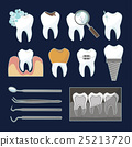 tooth implant teeth 25213720