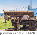 Freight wagon rail 25214283