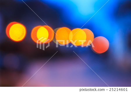 abstract background of blurred lights with bokeh  25214601