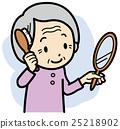 理髮 奶奶 祖母 25218902
