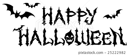 halloween, logo, english - Stock Illustration [25222982] - PIXTA