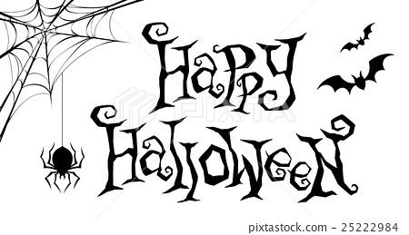 halloween, logo, english - Stock Illustration [25222984] - PIXTA