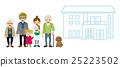 一起生活 共存 房屋 25223502
