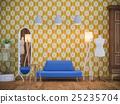 室内装饰 起居室 房间 25235704