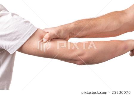 Blocking arms. 25236076