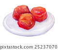 dried plum, watercolour, watercolors 25237070