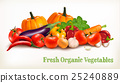 Background With Organic Fresh Vegetables. 25240889