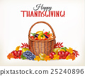 Happy Thanksgiving background  25240896