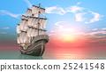 水手 帆船 交通 25241548