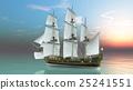 水手 帆船 交通 25241551