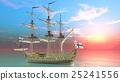 水手 帆船 交通 25241556