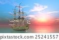 水手 帆船 交通 25241557