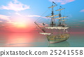 水手 帆船 交通 25241558