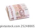 isolated, money, thai 25248665