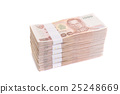isolated, money, thai 25248669