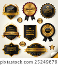 Luxury black labels set 25249679