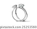 鑽石 戒指 環 25253560
