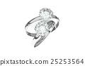鑽石 戒指 環 25253564