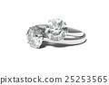 戒指 環 鑽石 25253565