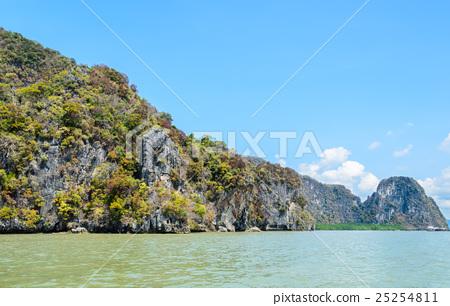 Limestone island in Thailand 25254811