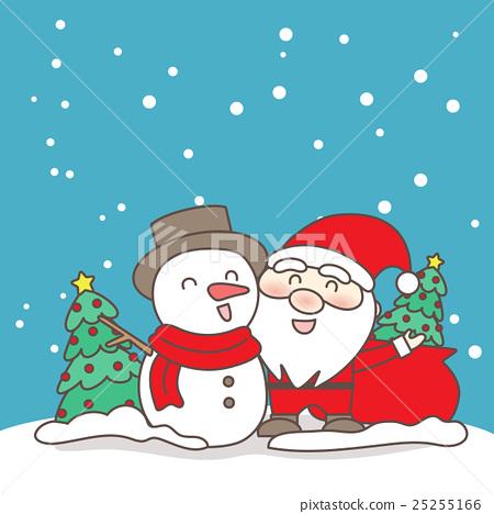 Christmas Day.Merry Christmas Day Stock Illustration 25255166 Pixta