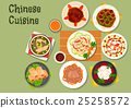 chinese, cuisine, vector 25258572
