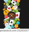 gambling, vector, coin 25263037