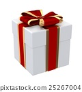 3d, render, gift 25267004