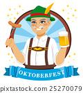 Oktoberfest Beer Man 25270079