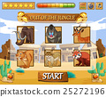 Game template with wild animals as characters 25272196