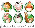 動物 農民 農夫 25272558