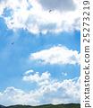 阿蘇山 飛翔 高崖跳傘運動 25273219