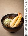 蕎麥麵 麵條 天婦羅蕎麥麵 25274517